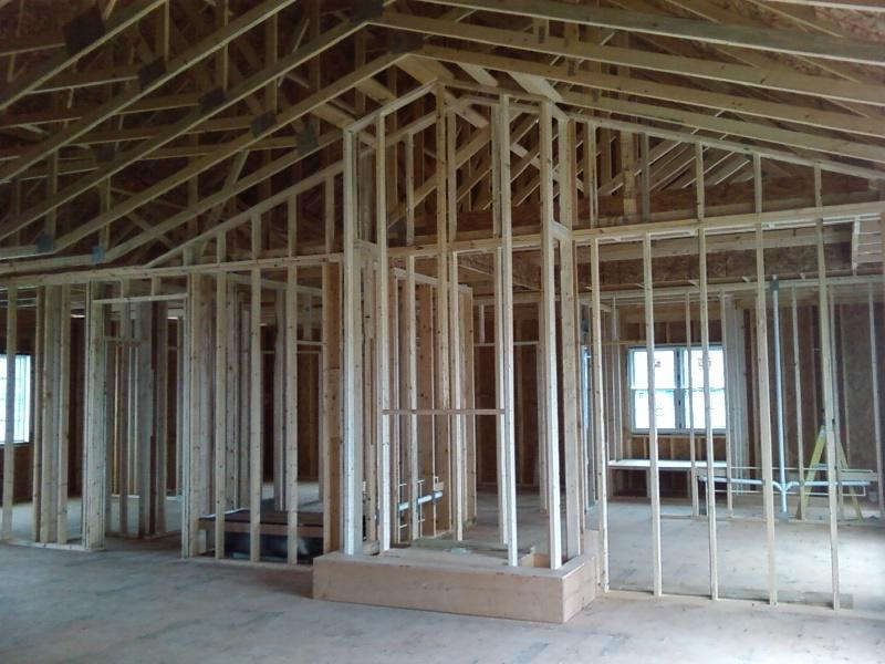 Fireplace Framing & Electrical Rough-in
