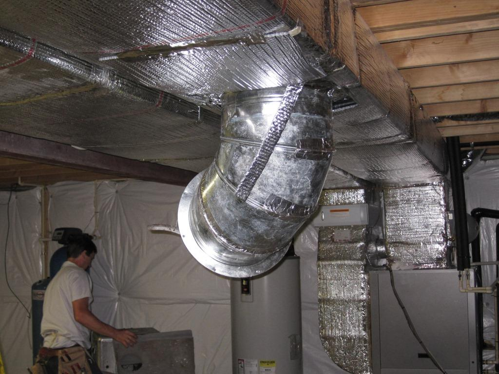 #7E624D Sealing The HVAC Ductwork Best 6333 Sealing Air Ducts From The Inside photos with 1024x768 px on helpvideos.info - Air Conditioners, Air Coolers and more